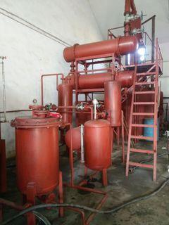 废机油炼柴油电磁加热免酸洗环保设备