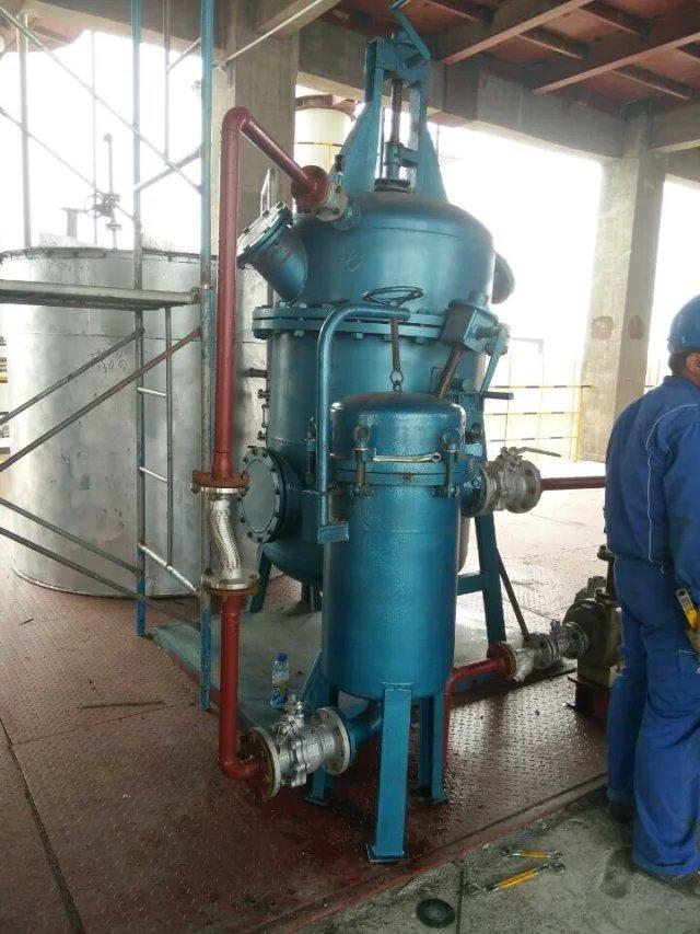 油品除杂质连续生产三袋过滤器